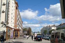 """проспект Ленина  слева гостиница """"Чувашия"""""""