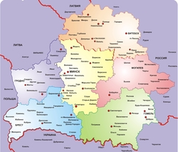 Скачать Бесплатно Карта Беларуси - фото 6
