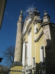 Уникальное сочетание Христианского собора с муссульманским минаретом