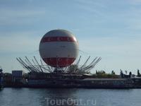 Огромный воздушный шар в Кадыкей