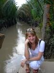 Один из каналов Меконга.