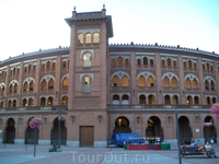 Арена корриды в Мадриде-Лас-Вентас