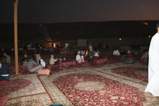 Ужин у бедуинов.