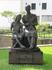 Эта скульптура посвящена местным вышивальшицам