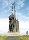 Фотография Памятник дружинам Александра Невского на г. Соколиха