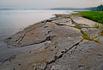 """Эти плоские камни в Карелии называют """"бараньими лбами""""."""