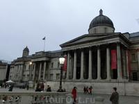 Знаменитая Национальная галерея.