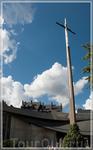 Руан, крест Жанна Д Арк