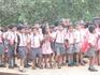 Старый Гоа. Школьники на прогулке.