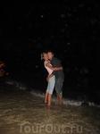 Адриатическое море ночью