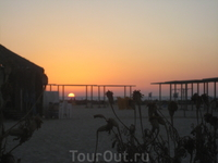 Закат на Средиземном. Нетания
