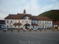 Вокзал в Ружомбероке: что-то такое голубоватое конца 19 - начала 20 веков