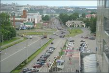 вид из окна Мега - Молла