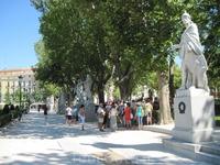 Статуи испанских королей