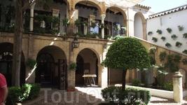 Cordoba - еврейский квартал - андалусское патио