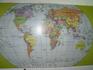 Карта мира на вьетнамском
