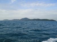 на пути к острову Ко Лан