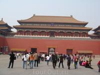 Музей Гугун- Запретный город.Бывшая резиденция императоров.