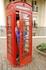 Визитная карточка Лондона: красная телефонная будка.