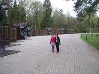 Возле города Мемориал партизанской славы