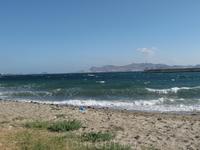 Неспокойное море.