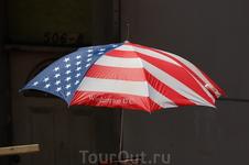 зонтик патриота)))
