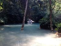 Каскадный водопад Куанг Си