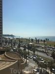 Вид из номера прекрасного отеля - Dan Panorama  hotel