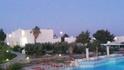 Вид с балкона ресторана на бассейн