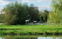 Памятник «Олени»