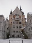 Центральный фасад замка Нойшвайнштайн