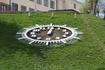 Часы  в городе на Крыничной площади