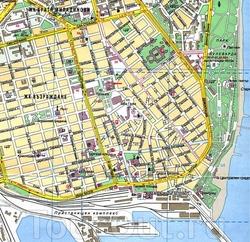 Karta Varny S Dostoprimechatelnostyami Oteli Mesta Foto Na Karte