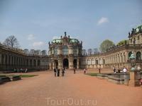 Внутренний двор Дворца-галереи