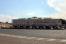 Гостиные ряды на Успенской площади. Корпуса XVIII - XIX столетий.