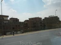 Каир_египетские фавеллы... П.С. там нет ни света, ни воды, НИЧЕГО нет, кроме стен...этот район не нанесен ни на одну карту Каира...