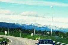 Начало путешествия по Норвегии...у Альты