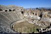 Амфитеатр некогда вмещавший 20 тысяч зрителей.