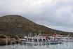 Остров Чаек. Пока мы купались, нам на мангале приготовили стейки, которые мы употребили с великолепным критским вином.