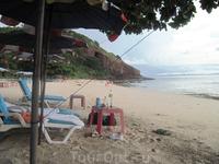 Ко Лан, пляж Monkey Beach, с погодой на этот раз нам не повезло...