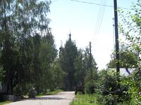 Наверное(?) это Спасо-Архангельская церковь. Времени на подход к ней у нас уже не было