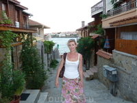Типичная улочка старого Созополя