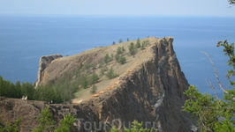 о.Ольхон, мыс Хобой - самая северная оконечность острова.