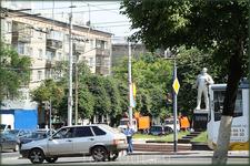 перекрёсток ул.Гагарина и пр.Ленина