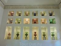 А это коллекция турецких ваз