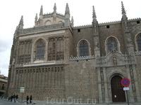 Толедо. Главный фасад церкви Сан Хуан де лос Рейес