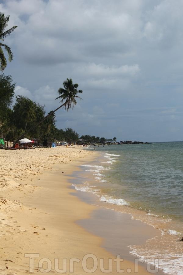 Таким мы увидели пляж Лонг-Бич впервые