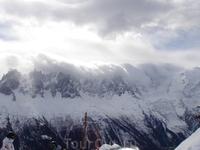 Еще облака и горы
