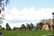 парк Всех Влюбленных в Боготе