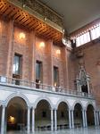 Зал, где чествуют нобелевских лауреатов